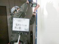 玄関扉改修工事-04