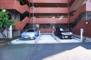 機械式駐車場塗装工事