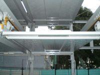 機械式駐車場塗装工事-05